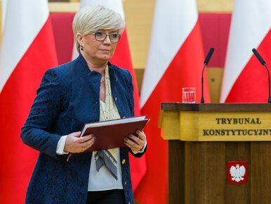 """Prezes TK z tytułem """"Człowieka Wolności"""" tygodnika """"Sieci"""". Przyłębskiej..."""