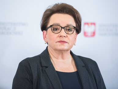 Liceum minister Zalewskiej dołącza do strajku. Za głosowało 90 proc.