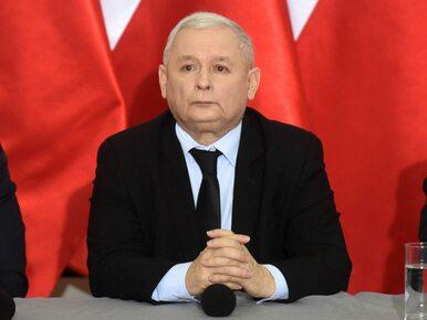 Kaczyński o konieczności zawarcia umowy ws. języka parlamentarzystów w...