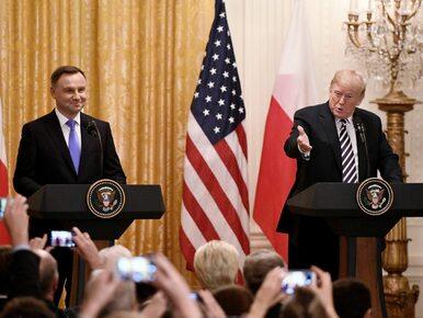 Spotkanie Andrzeja Dudy z Donaldem Trumpem. Biały Dom ujawnia szczegóły