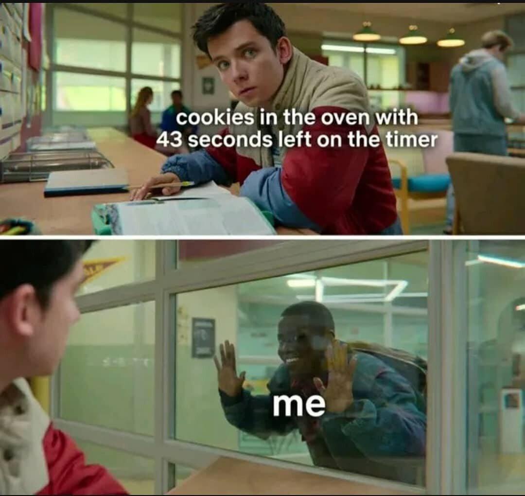 Ciasteczka w piekarniku/Ja