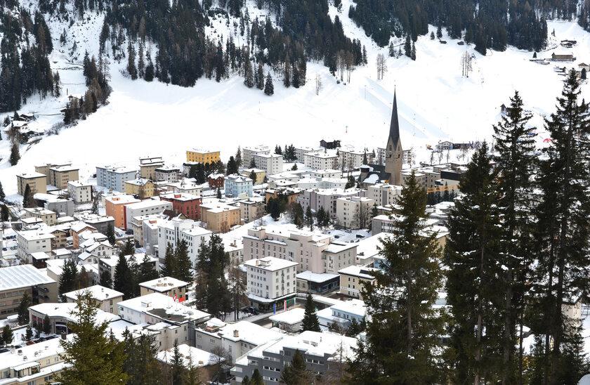Davos, zdjęcie ilustracyjne