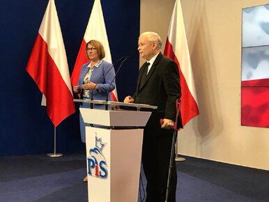 Pierwsza konferencja Jarosława Kaczyńskiego od tygodni. Padła deklaracja