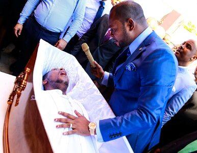 Mężczyzna nie żył od 3 dni, pastor twierdzi, że dokonał wskrzeszenia....