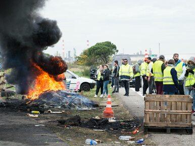Dziesiątki rannych, zablokowane drogi i chaos. Trwają protesty we Francji