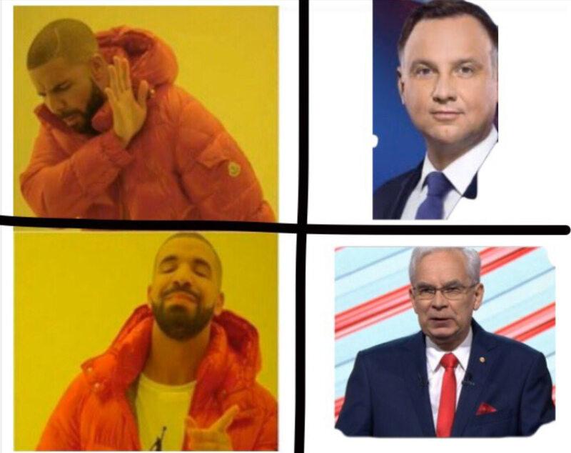 Mem po debacie prezydenckiej