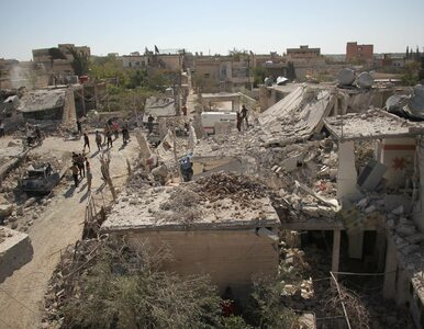 Syria: Atak lotniczy na szkoły. Co najmniej 35 osób nie żyje
