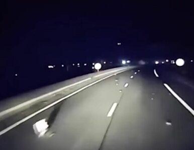 Bloki betonu na drodze koło Calais. Z ciemności wyłaniają się mężczyźni....