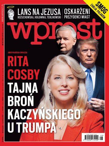 Okładka tygodnika Wprost nr 48/2016 (1764)