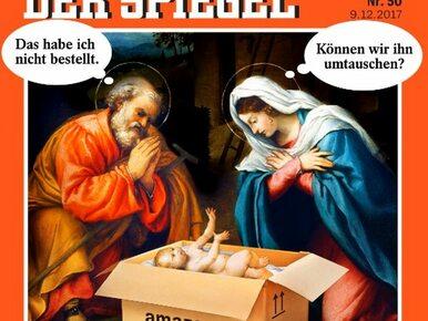 """""""Ja tego nie zamawiałem"""". Rodzina Święta na kontrowersyjnej okładce """"Der..."""