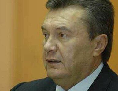 Janukowycz: nie podpiszemy umowy z UE, bo Putin nam grozi