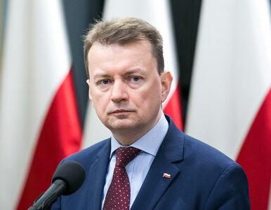 """Gorąco w Sejmie. Błaszczak zaapelował do opozycji o """"odrobinę..."""