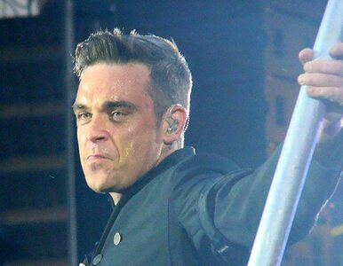 Robbie Williams: nie jestem piękny, muszę robić makijaż