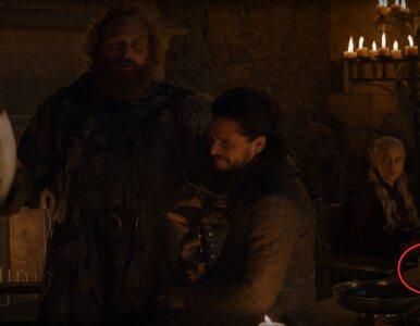 """Wpadka w serialu """"Gra o tron"""". To nie powinno się znaleźć na stole!"""