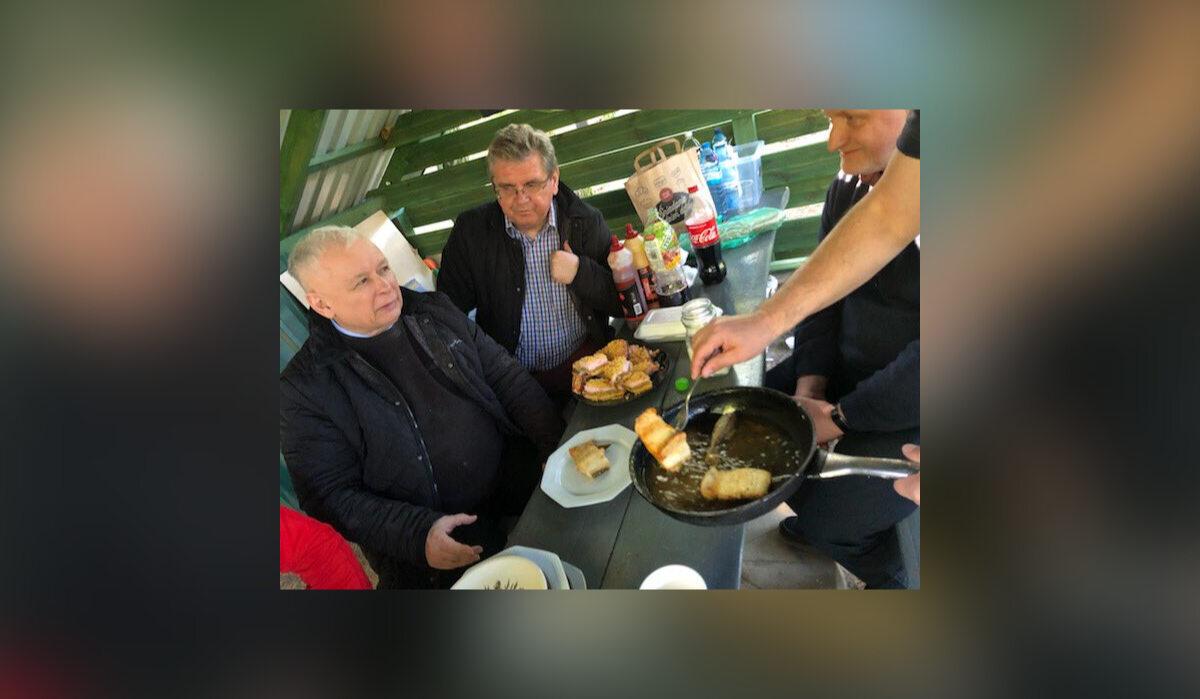 """""""Męski wieczór"""" polityków PiS"""