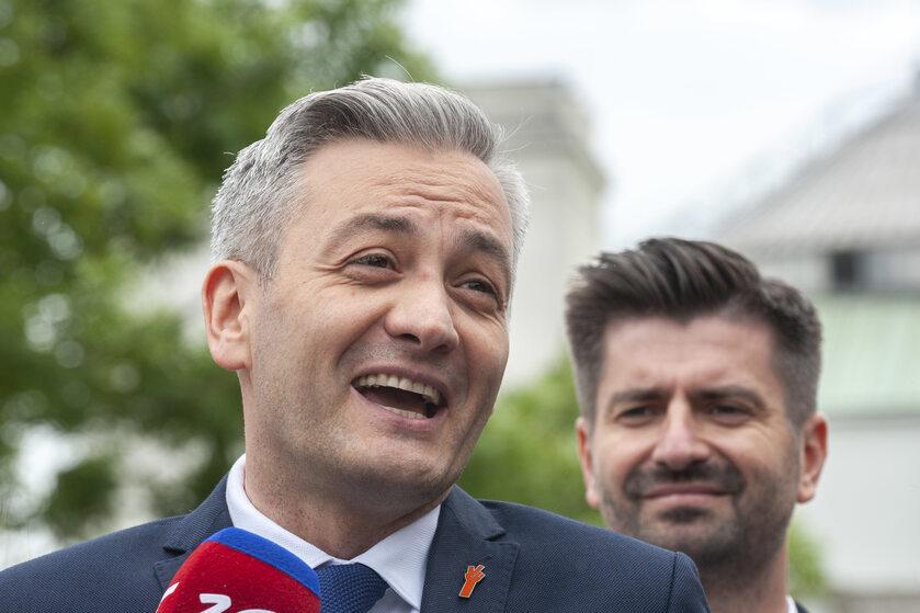Robert Biedroń i Krzysztof Śmiszek