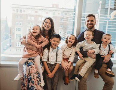 Adoptowali 4 dzieci, urodziły im się czworaczki. Ta rodzina mogłaby...