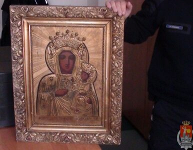 Obraz Matki Boskiej w rękach 18-latka. Wpadł przez... amfetaminę