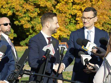 Premier Morawiecki poparł Patryka Jakiego. Trzaskowski: Bezpartyjnego...