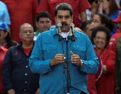Dziennikarze zatrzymani po wywiadzie z Maduro. Prezydentowi nie...