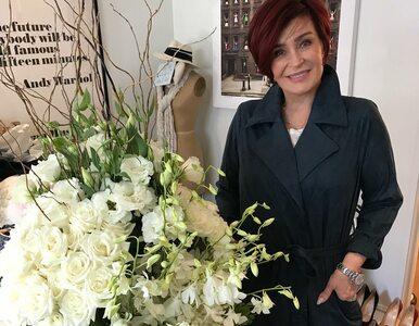 Sharon Osbourne zmieniła kolor włosów. Ciemna czerwień była jej znakiem...