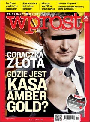 Okładka tygodnika Wprost nr 34/2012 (1540)