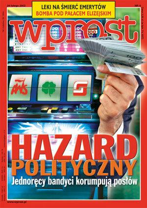 Okładka tygodnika Wprost nr 8/2002 (1004)
