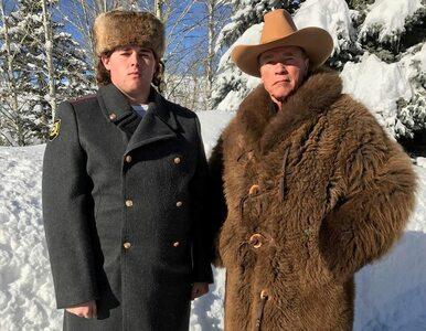 "Syn Arnolda Schwarzeneggera rosyjskim policjantem? ""Matrioszka, wódka,..."