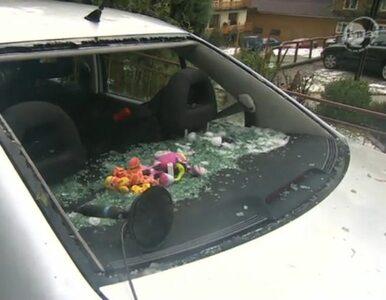Grad uszkodził 11 dachów i kilkadziesiąt samochodów