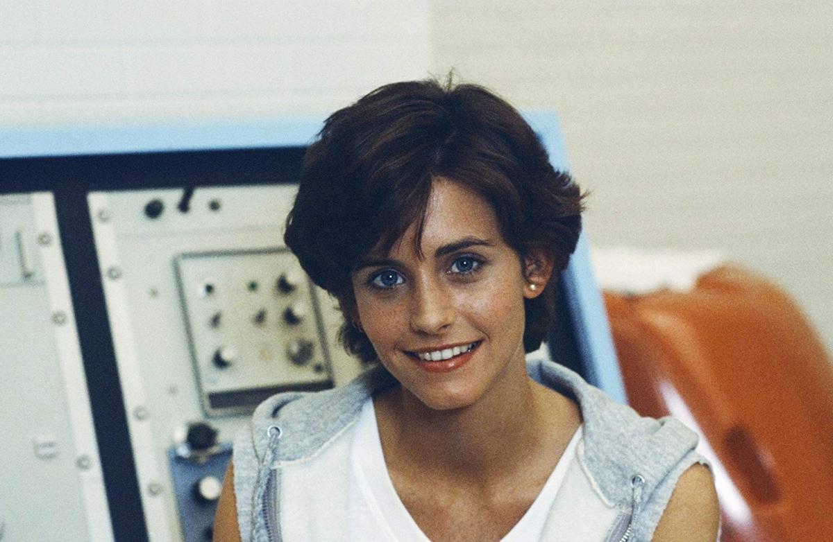 """Courteney Cox w serialu """"Meandry wiedzy"""" (1985-1986)"""