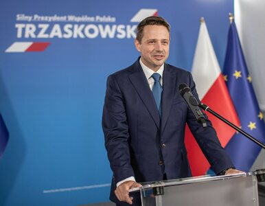 """Trzaskowski zapowiada bezpartyjną kancelarię prezydenta. """"Dzisiaj mamy..."""