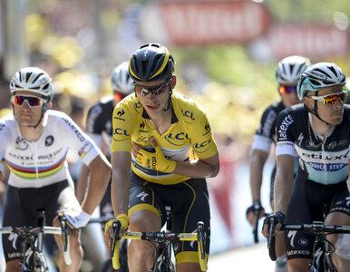 Kwiatkowski nie ukończy Tour de France