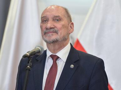Macierewicz ostro o prezydencie: Można się zastanowić, czy nie powrócił...