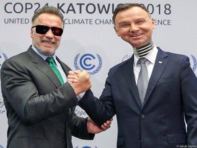 Andrzej Duda i Arnold Schwarzenegger na jednym zdjęciu. To musiało...